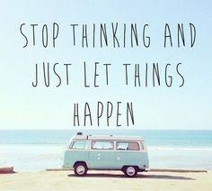 just let it!