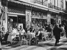 Antigamente, as esplanadas de Lisboa eram assim