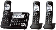 PANASONIC KX-TGF343B Expandable Digital Cordlesss Phone Sys., Ans Sys, TCID #Panasonic