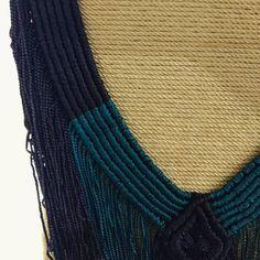 Les presentamos una de las piezas de la colección PACÍFICO ANCESTRAL. Muy pronto descubrirán el maravilloso mundo de la comunidad TUMACO-LA TOLITA  .  .  .  .  .  .  #statementpiece #macrame #macramejewelry #macrameart #hechoamano #makrame #design Macramé Art, Tassel Necklace, Macrame, Tassels, Handmade, Diy, Jewelry, Instagram, Fashion