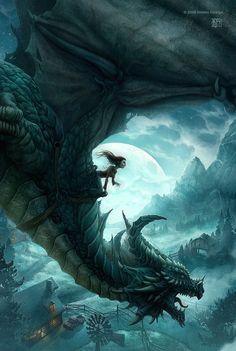 The Dragons of Ordinary Farm C (~by Kerem Beyit)