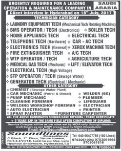 Need Sales And Project Engineer In Ksa Visa Not There