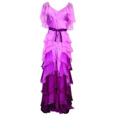 One of my favorite discoveries at HarryPotterShop.com: Harry Potter Authentic Replica Adult Hermione Yule Ball Gown. I will own this.