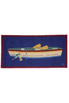 Cottage Home Furniture - Rowboat Hooked Rug