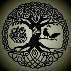 Jul 2015 - Inspiration for Justin Petitt's Tattoo. See more ideas about Yggdrasil tattoo, Celtic art and Celtic tree of life.