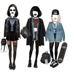 A fashion look from November 2015 by del-diablo featuring La Garçonne Moderne, Hue, Pretty Polly, T.U.K., Ann Demeulemeester, Levi's, Legacy, Topshop, H&M, Dr....