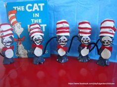 Egg Carton Cat in The Hat