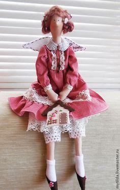Куклы Тильды ручной работы. Ярмарка Мастеров - ручная работа Домашняя Феечка. Handmade.