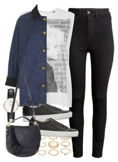 """""""Requested outfit with an Effie satchel"""" by ferned on Polyvore featuring H&M, Tee and Cake, Topshop, Forever 21, Givenchy, Daniel Wellington and Mulberry"""