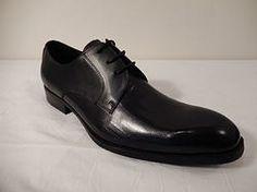 Encore Black Hand Painted Dress Shoe