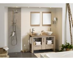 1000 images about salle de bain on pinterest bathroom for Monsieur bricolage salle de bain