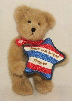 "Americana Boyds Bears Plush - Maddie ""Stars & Stripes Forever"" (4021581) RETIRED"