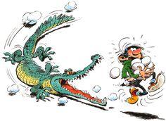 Guust Flater/ Gaston Lagaffe by the Belgium cartoonist André Franquin.