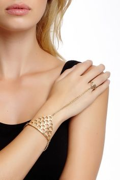 Summer Hand Bracelet by So Anyway on @HauteLook