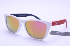 Oakley Frogskins Sunglasses Red Black White Frame Colorful Lens https://www.etsy.com/shop/MyselfJewellery