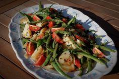 green beans salad Green Bean Salads, Green Beans, Beans Salad, Vegetables, Food, Salads, Essen, Vegetable Recipes, Meals