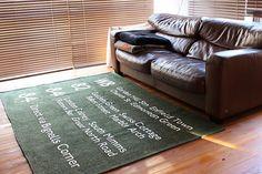ヴィンテージバスステーションラグ【140×200】【カーキ】:ナチュラル,ヴィンテージ&レトロ,グリーン系,Home's Style(ホームズスタイル)のラグ・マットの画像