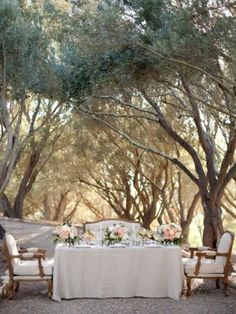 French provincial outdoor dining