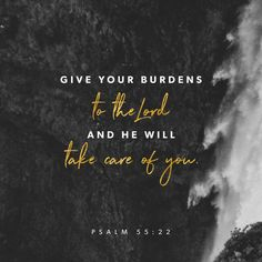 """Give your worries to the Lord, and he will care for you. He will never let those who are good be defeated."" ‭‭Psalms‬ ‭55:22‬ ‭ERV‬‬ http://bible.com/406/psa.55.22.erv"