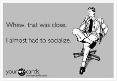 because i'm an introvert