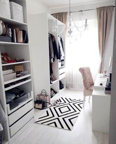 Trendy home office closet layout 28 ideas Wardrobe Room, Closet Bedroom, Closet Space, Ikea Closet, Closet Curtains, Open Wardrobe, Master Closet, Home Office Closet, Dressing Room Design