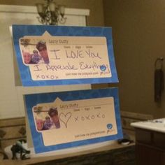 Let someone know you love them these cool customized sticky notes! JotSpark!!