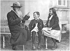leo tolstoi tells a story to his grandchildren in 1909( I bet it was long derivative and confusingly void of magic but filled with an almost passive resistance of evil )