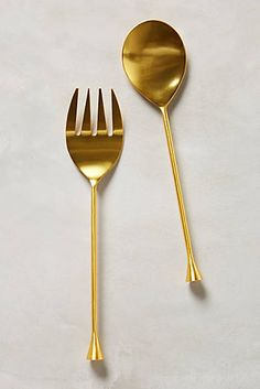 Gilded Cornet Serving Set