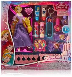 Disney Princess Townleygirl 13 Piece Cosmetic Beauty Set -- Details can be found by clicking on the image. (This is an affiliate link) Disney Princess Gifts, Disney Princess Rapunzel, Disney Frozen Elsa, Toddler Girl Gifts, Baby Boy Gifts, Toddler Christmas Gifts, Little Girl Toys, Jojo Bows, Disney Makeup