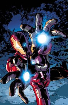 Iron Man by Mike Deodato Jr.