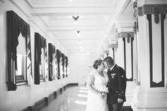Katie & Rob | Soldiers & Sailors Memorial Hall & Museum | Pittsburgh Wedding Venue | Wedding Reception | Historic Wedding | June Wedding | Purple & Grey Wedding | Grand Ballroom | All The Best Catering | Life Is Sweet Bakery |Red Flats Photography | Donati Florist | Military Wedding