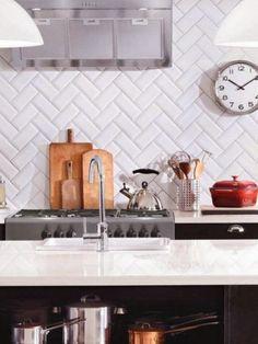 [Decotips] Cómo usar ladrillo tipo 'metro' en cocinas y baños   Decoración