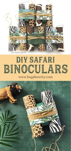 DIY Safari Binoculars for Safari or Jungle-Themed PartiesYou can find Jungle party and more on our website.DIY Safari Binoculars for Safari or Jungle-Themed Parties Safari Theme Birthday, Jungle Theme Parties, Wild One Birthday Party, Birthday Party Themes, Themed Parties, Jungle Party Favors, 2nd Birthday, Jungle Theme Baby Shower, Jungle Book Party