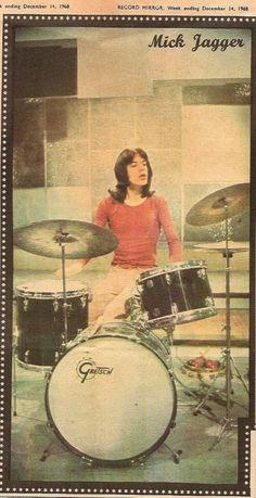 Mick Jagger - Record Mirror 1968