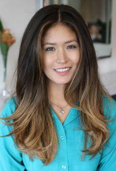Balayage Highlights On Dark Hair - Yahoo Image Search Results