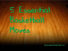 The 5 Essential Basketball Moves: Hesitation Dribble Crossover In and Out Dribble Behind the Back Dribble Pump Fake Basketball Moves, Basketball Jersey, Basketball Players, Basketball Stuff, Improve Yourself, Essentials, Crossover, Pump, Sports