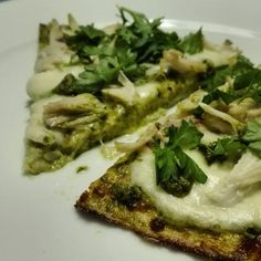 Healthy Recepies, I Want To Eat, I Love Food, Pesto, Vegetable Pizza, Food Inspiration, Brunch, Veggies, Food And Drink