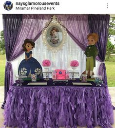 Sofia The First Birthday Party (Candy Bar) Princess Sofia Birthday, Sofia The First Birthday Party, First Birthday Themes, Disney Birthday, Birthday Party Decorations, 3rd Birthday, First Birthdays, Party Themes, Birthday Surprises For Him