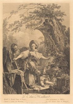 Jacques-Firmin Beauvarlet after Jean-Honoré Fragonard, 'Colin Maillard,' 1760, National Gallery of Art, Washington, D.C.