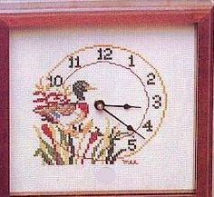 Mallard Duck Clock - 1
