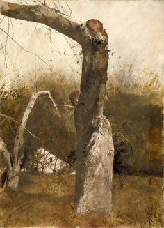 Andrew Wyeth, Early Spring on ArtStack #andrew-wyeth #art