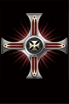 Escudo Templario Damasquinado Knight Sword, Knight Art, Templar Knight Tattoo, Ace Of Spades Tattoo, Harley Tattoos, Silver Knight, Christian Warrior, Christian Images, Lion Of Judah