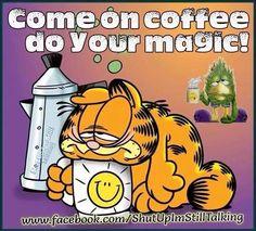 Afbeeldingsresultaat voor Garfield café na veia