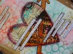 Made by Nicole: Mixed-Media Quote Tutorial