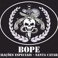 Batalhão de Operações Policiais Especiais - BOPE! #bope #pmsc #caveira #policia