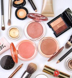 Compact Foundation, Cream Blush, War Paint, Color Swatches, Glowing Skin, Bright Pink, Lip Colors, Convertible, Beauty Makeup