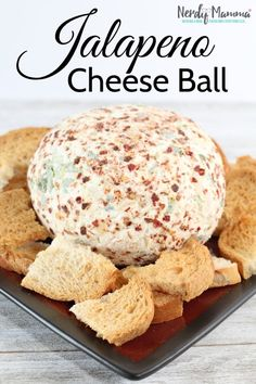 I have a desperate and undying love of spicy things. Even at the holidays.I just love having some heat with my turkey dinner spread. This Jalapeno Cheeseball is absolutely what hits the spot. Yummy Appetizers, Appetizer Recipes, Snack Recipes, Cooking Recipes, Appetizer Ideas, Tartiflette Recipe, Gluten Free Puff Pastry, Cheese Ball Recipes, Christmas Snacks