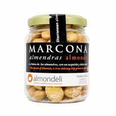 Premium Spanish Marcona Almonds by Almondeli oz Html, Spanish, Sweet, Almond, Fine Dining, Products, Spanish Language, Spain
