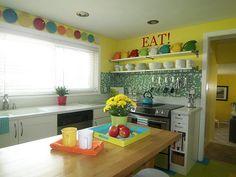 Fiestaware kitchen!