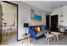 俐落輕美式_美式風設計個案—100裝潢網 Divider, Bedroom, Interior, Furniture, Design, Home Decor, New Houses, In Living Color
